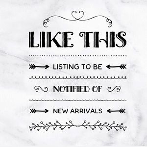 🆕Like this listing to be notified of new listings